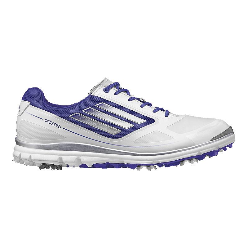 sports shoes 5ba20 f28fe adidas Golf Women s Adizero Tour III Golf Shoes - White Purple   Sport Chek