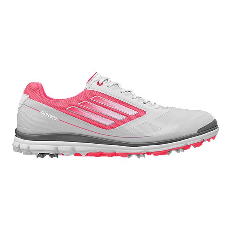 cd0629ccfd3 adidas Golf Women s Adizero Tour III Golf Shoes - White Pink (888592685375)  photo
