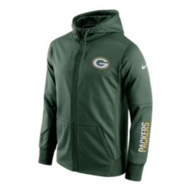 Green Bay Packers Circuit Full Zip Hoodie