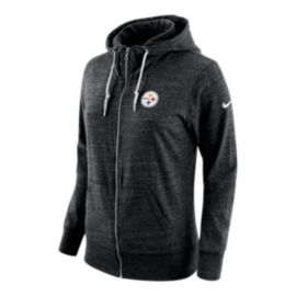 Pittsburgh Steelers Tailgate Vintage Full Zip Women's Hoodie