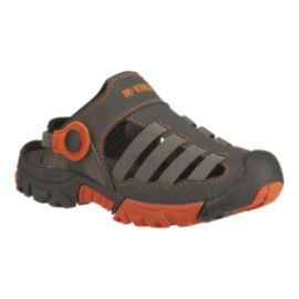 McKINLEY Kids' TechLite Sandals - Brown/Orange