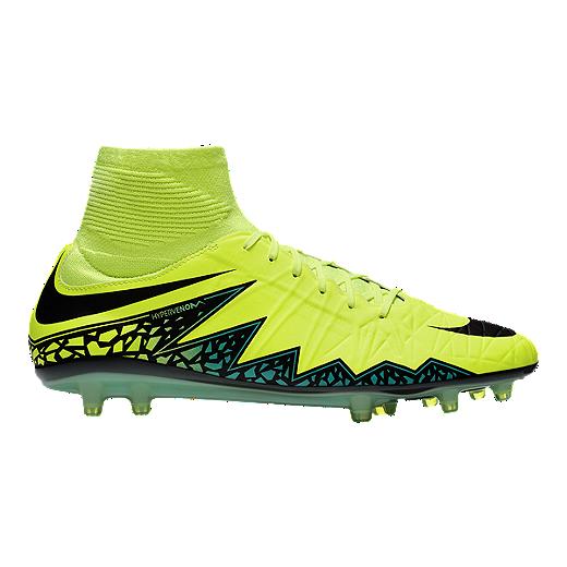 706f864c14 Nike Men's HyperVenom Phatal II DF FG Outdoor Soccer Cleats - Volt  Green/Black/Blue | Sport Chek