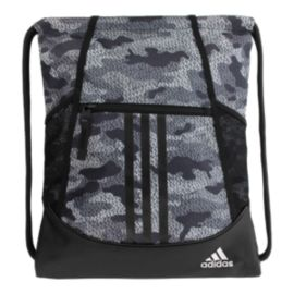 adidas Alliance II Sackpack - Grey Pattern