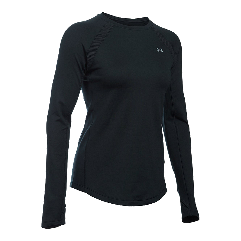 Sport Chek Heated Gloves: Under Armour ColdGear® Armour Women's Long Sleeve Crew Top