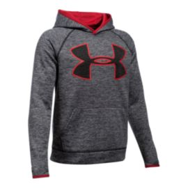 Under Armour Boys' Fleece Storm Twist Highlight Hoodie