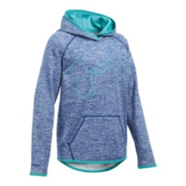 Under Armour Girls' Storm Armour® Fleece Novelty Big Logo Hoodie