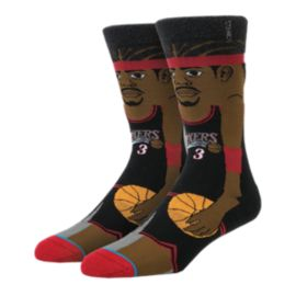 Stance NBA Legend Iverson Cartoon Men's Socks