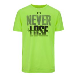Under Armour Boys' Never Lose Short Sleeve T Shirt