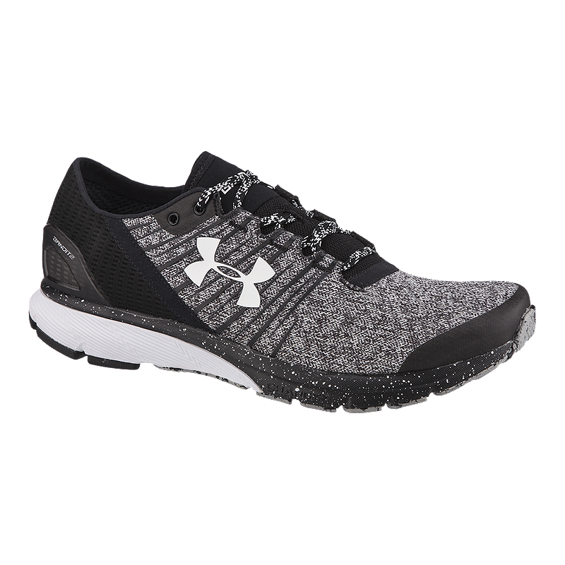 huge discount 67d8b 1ab8b Under Armour Men's Charged Bandit 2 Running Shoes - Black ...