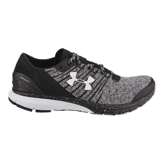 e315a6ccb Under Armour Men's Charged Bandit 2 Running Shoes - Black/Grey ...