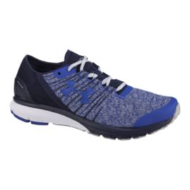 Under Armour Men's Charged Bandit 2 Running Shoes - Blue/White/Grey