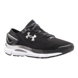Under Armour Men's SpeedForm Gemini 2.1 Running Shoes - Black/White