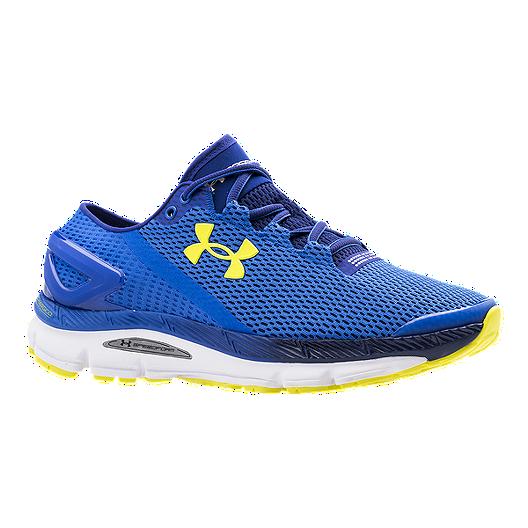 sale retailer 3878b cd652 Under Armour Men's SpeedForm Gemini 2.1 Running Shoes - Blue ...
