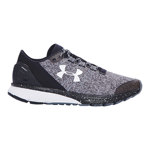 d84c7c492 Under Armour Women's Charged Bandit 2 Running Shoes - Heather  Grey/Black/White | Sport Chek