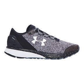 Under Armour Women's Charged Bandit 2 Running Shoes - Heather Grey/Black/White