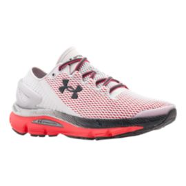 Under Armour Women's SpeedForm® Gemini 2.1 Running Shoes - White/Red/Black