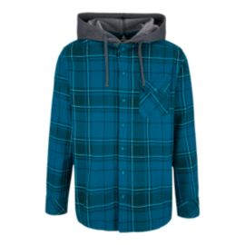 Firefly Spence Men's Hooded Long Sleeve Flannel