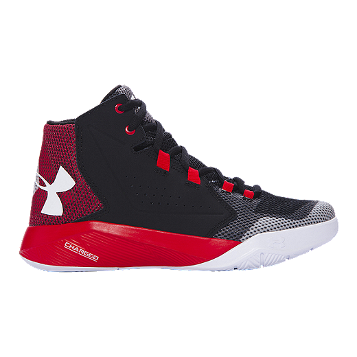 6e505283 Under Armour Kids' Torch Fade Grade School Basketball Shoes - Black ...