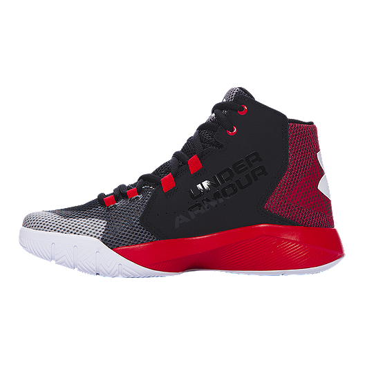 400622f1a04e Under Armour Kids  Torch Fade Grade School Basketball Shoes - Black ...