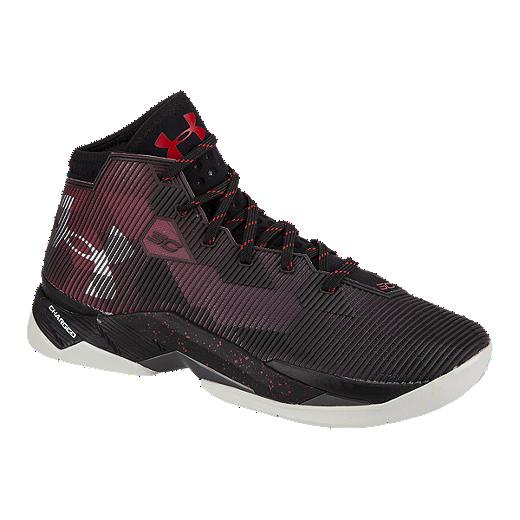 70f24052e4ec1 Under Armour Kids' Curry 2.5 Grade School Basketball Shoes - Black ...