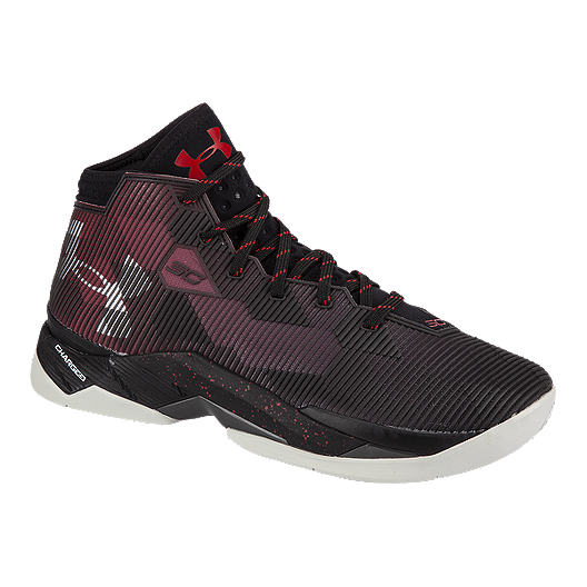 fd0c1ac5c87 Under Armour Kids  Curry 2.5 Grade School Basketball Shoes - Black Red