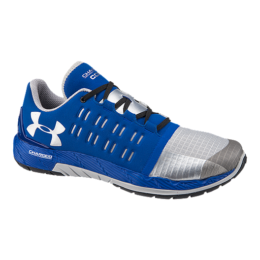 huge selection of 57f88 2d661 Under Armour Men's Charged Core Training Shoes - Blue/Silver ...