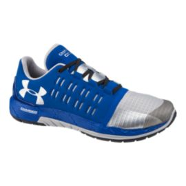 Under Armour Men's Charged Core Training Shoes - Blue/Silver