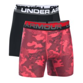 Under Armour Original Series Fitted Novelty Boys' Boxerbriefs - 2-Pack