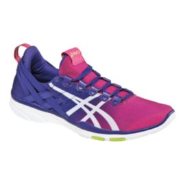 ASICS Women's Gel Fit Sana Training Shoes - Pink/Blue/White