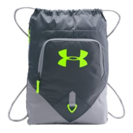Under Armour Undeniable Sackpack - Grey/Green