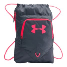 c0fc50956032 Under Armour Undeniable Sackpack - Grey Pink