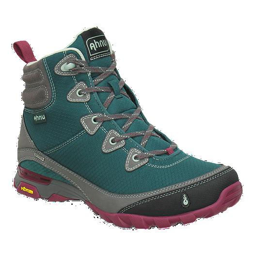 a6d949edecc Ahnu Women's SugarPine Waterproof Hiking Boots - Green/Grey | Sport Chek