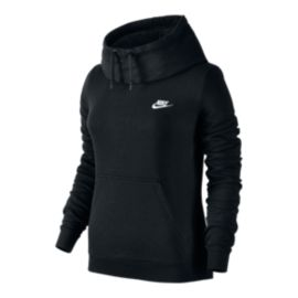 Nike Sportswear Blue Label Funnel Women's Fleece Pullover Hoodie