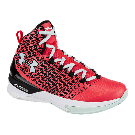 137e35064573 Under Armour Women s ClutchFit Drive III Basketball Shoes -  Pink White Black