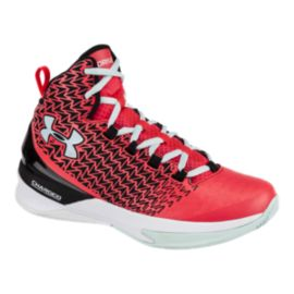 Under Armour Women's ClutchFit Drive III Basketball Shoes - Pink/White/Black
