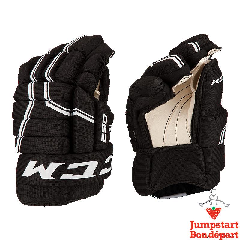 CCM QuickLite 230 Youth Hockey Gloves | Sport Chek