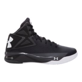 Under Armour Men's Rocket Basketball Shoes - Black/White