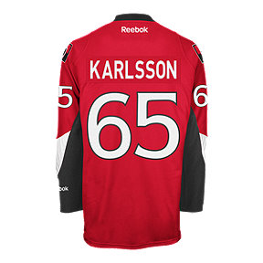 Ottawa Senators Erik Karlsson Premier Home Hockey Jersey