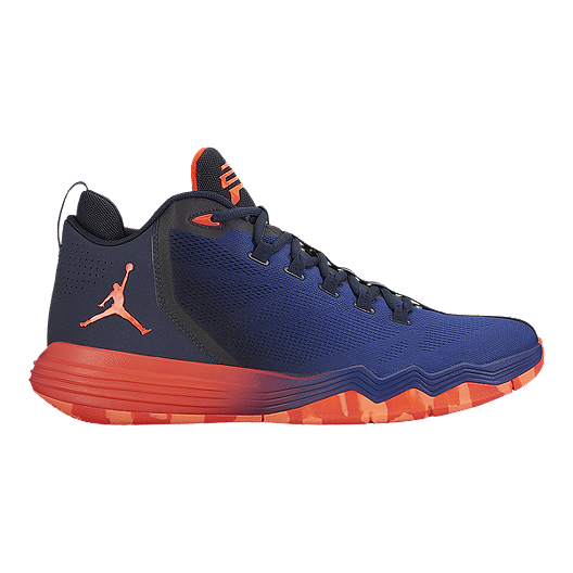 get cheap 08c7b 28d1b Nike Men s Jordan CP3.IX AE Basketball Shoes - Blue Orange Black   Sport  Chek