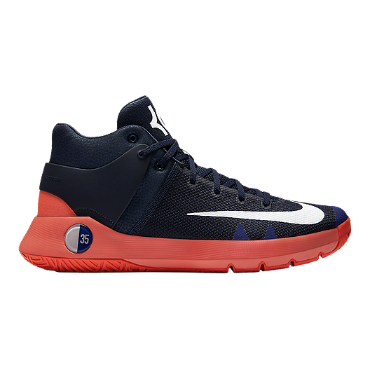 sports shoes db118 4b312 Nike Men s KD Trey 5 IV Basketball Shoes - Navy Orange   Sport Chek