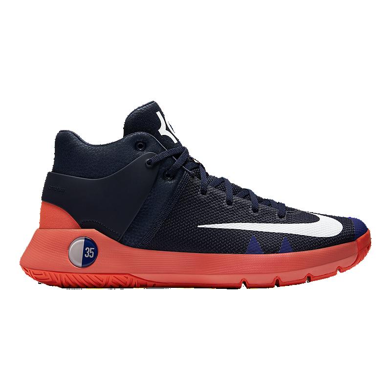 sports shoes 45821 72b4d Nike Men s KD Trey 5 IV Basketball Shoes - Navy Orange   Sport Chek