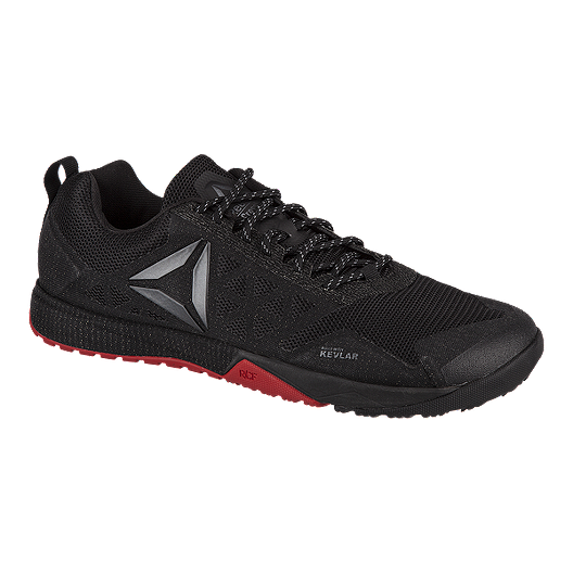 1fe0b327bbe Reebok Men s CrossFit Nano 6.0 Training Shoes - Black Red