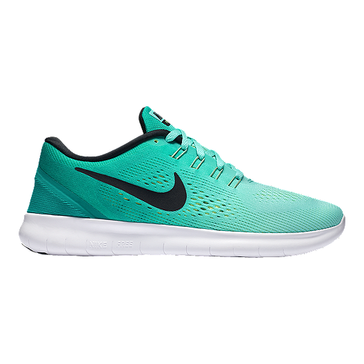 032f5631d990 Nike Women s Free RN 2016 Running Shoes - Turquoise Green Black ...