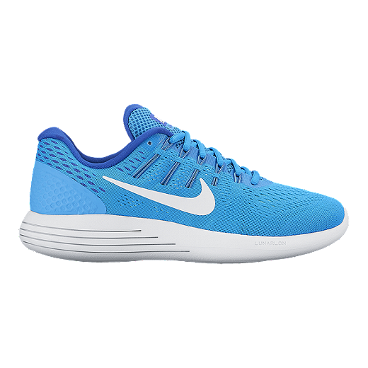 2d68433963 Nike Women's LunarGlide 8 Running Shoes - Blue/White   Sport Chek
