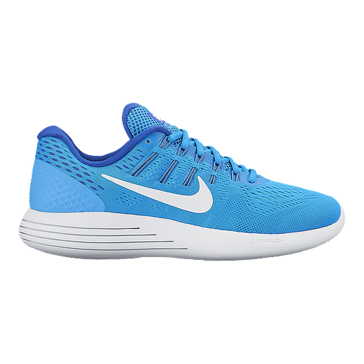 newest 25048 64ec7 Nike Women s LunarGlide 8 Running Shoes - Blue White   Sport Chek