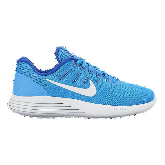 1a6fa32ce0d Nike Women s LunarGlide 8 Running Shoes - Blue White