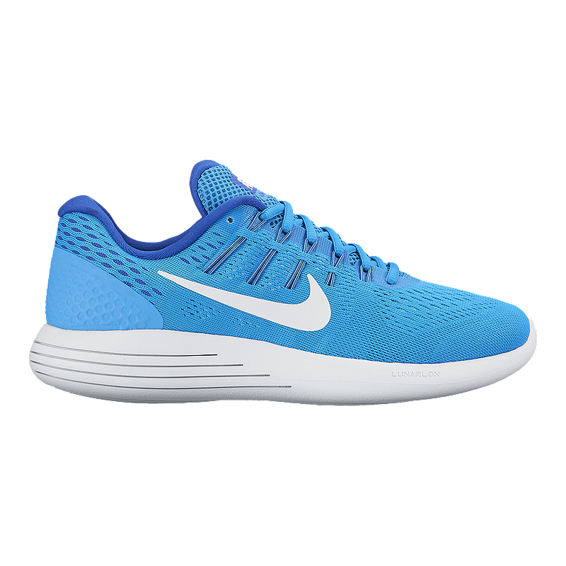 935357f0cd56 Nike Women s LunarGlide 8 Running Shoes - Blue White