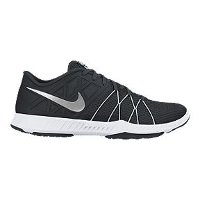 502d86d02c94 Nike Men s Zoom Train Incredibly Fast Training Shoes - Black Silver