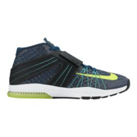 Nike Men's Zoom Train Toronado Training Shoes - Dark Navy/Volt Green