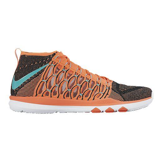 Disminución Iluminar Puntero  Nike Men's Train UltraFast FlyKnit Training Shoes - Orange/Blue/Black |  Sport Chek